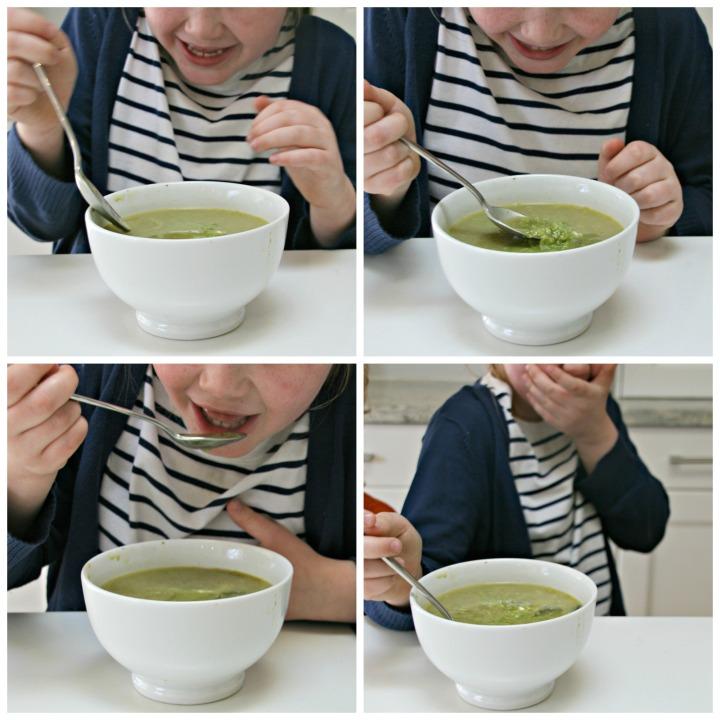 soup reaction