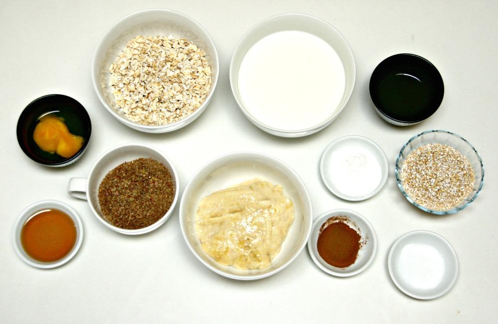 oatmeal pancakes ingredients
