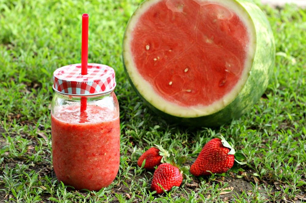 strawberry watermelon drink