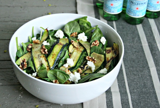 zuke salad for five things
