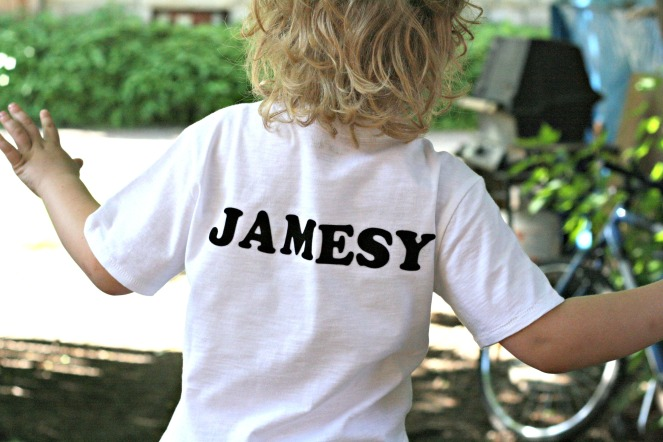 jamesy shirt
