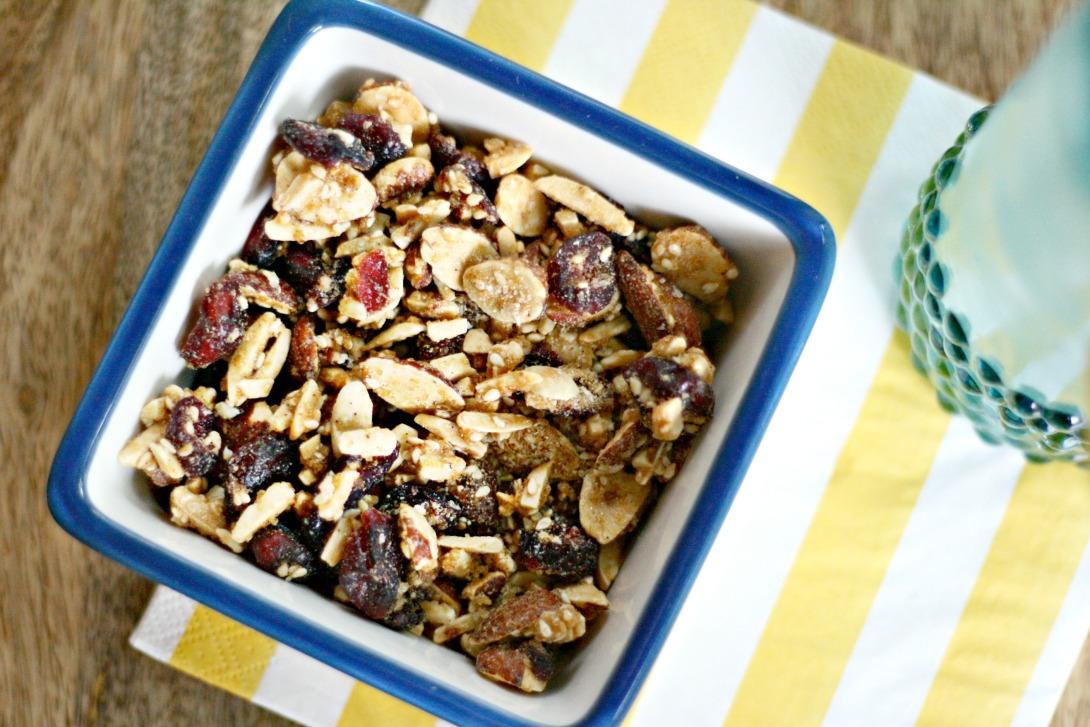 sahale nuts alongside