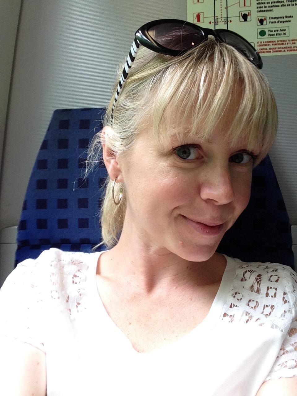 train-selfie