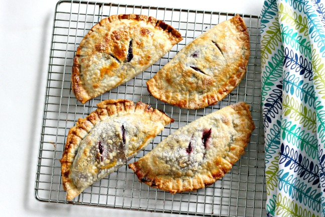 Concord grape pocket pies