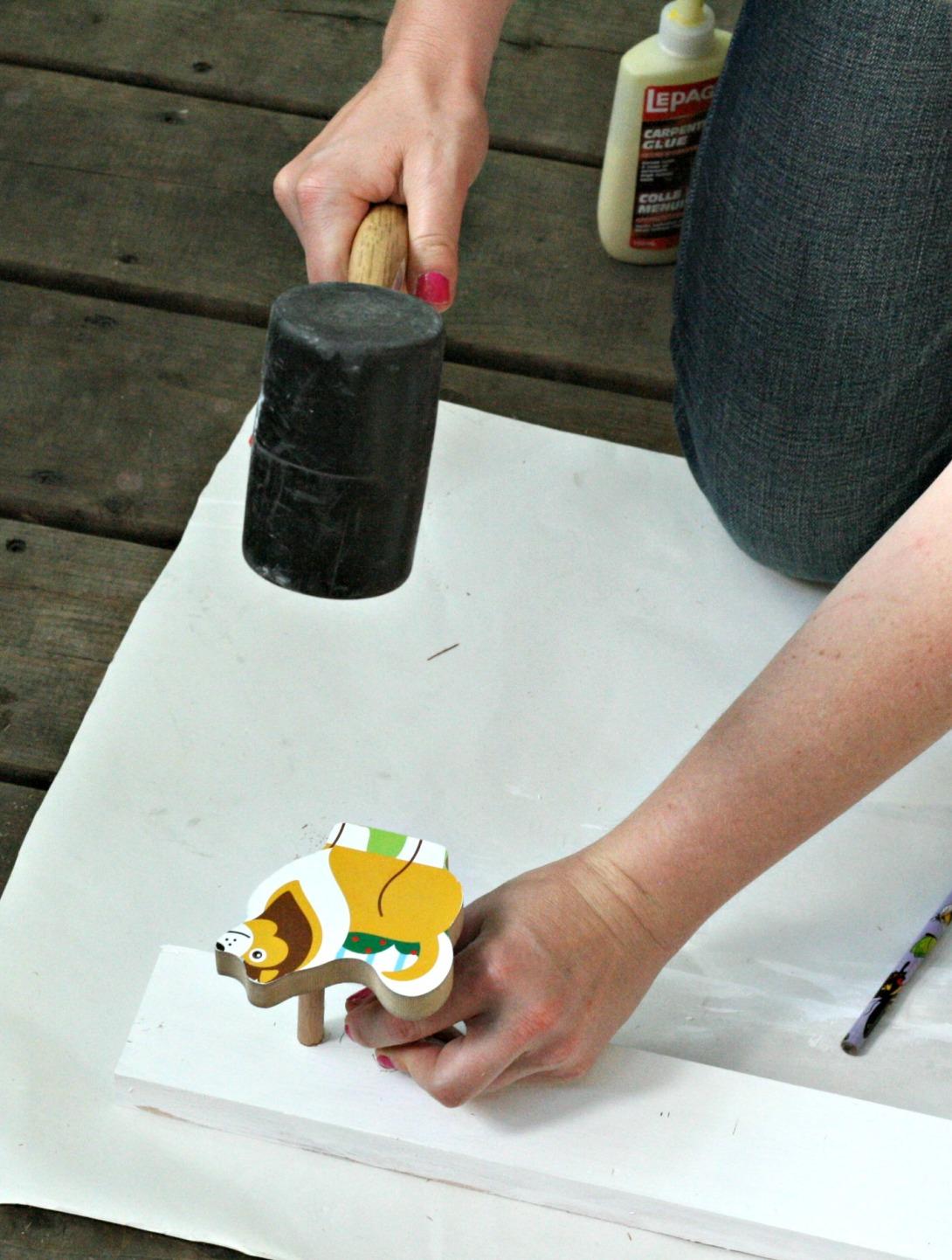 DIY mallet collie 2