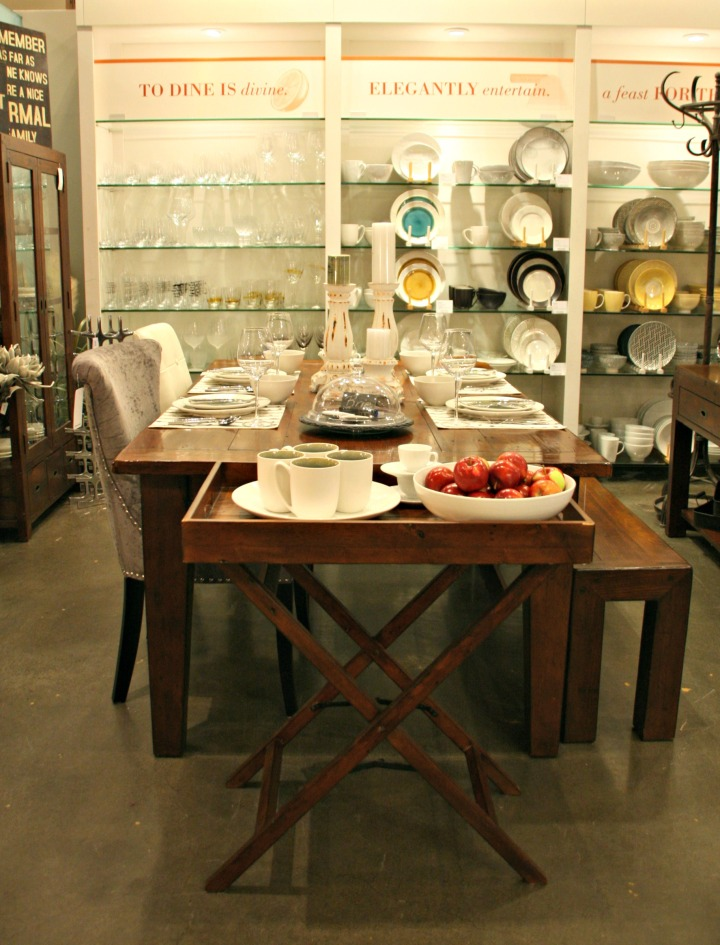 urban barn third table