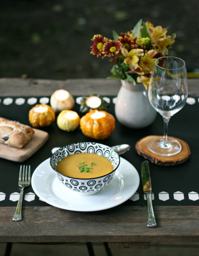 gourd table setting