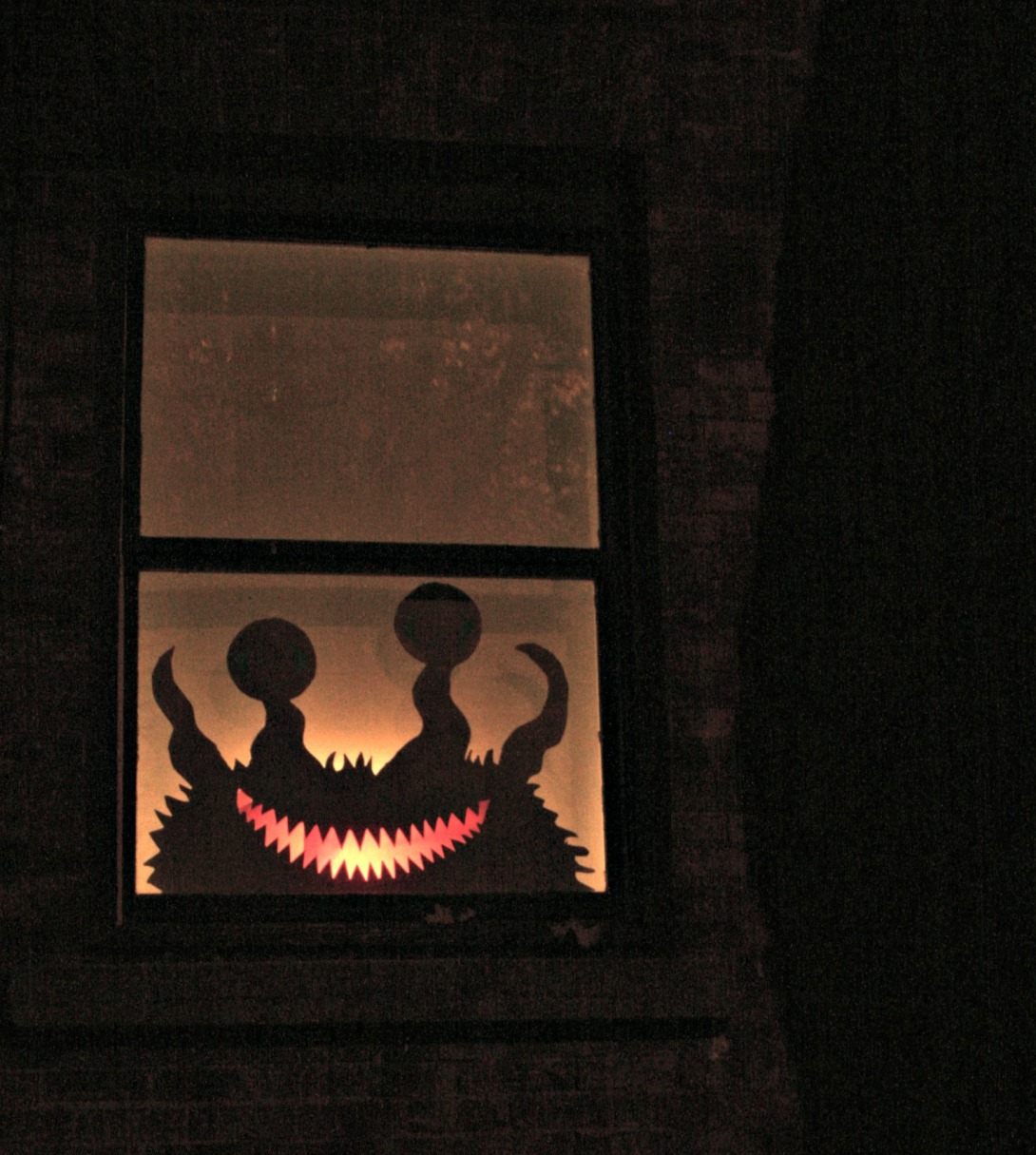 Halloween monster decoration
