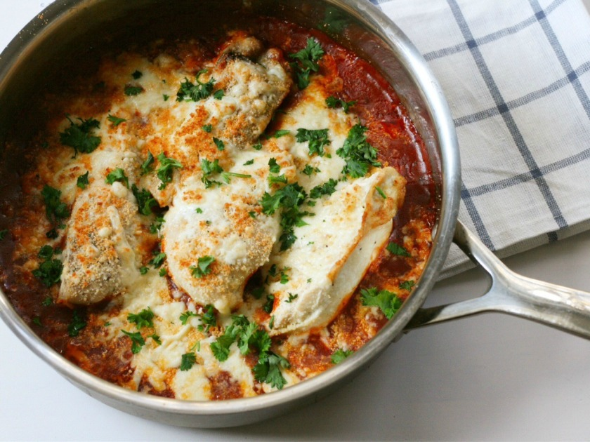 campbells easy chicken skillet 2