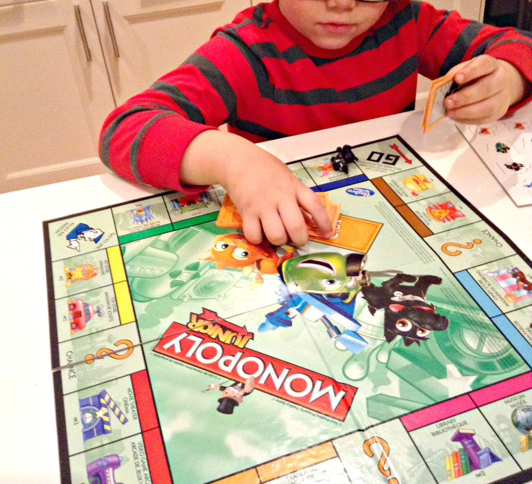 monopoly junior for blog
