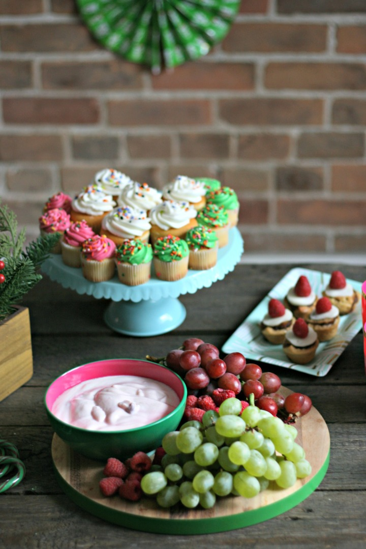 st cupcakes and grapes great shot
