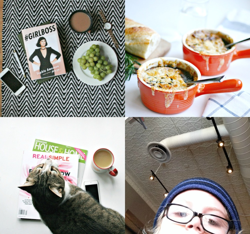four things collage blog