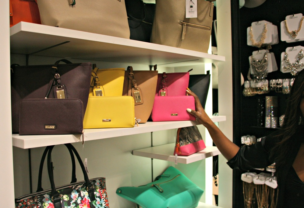 aldo spring matching purses and wallets