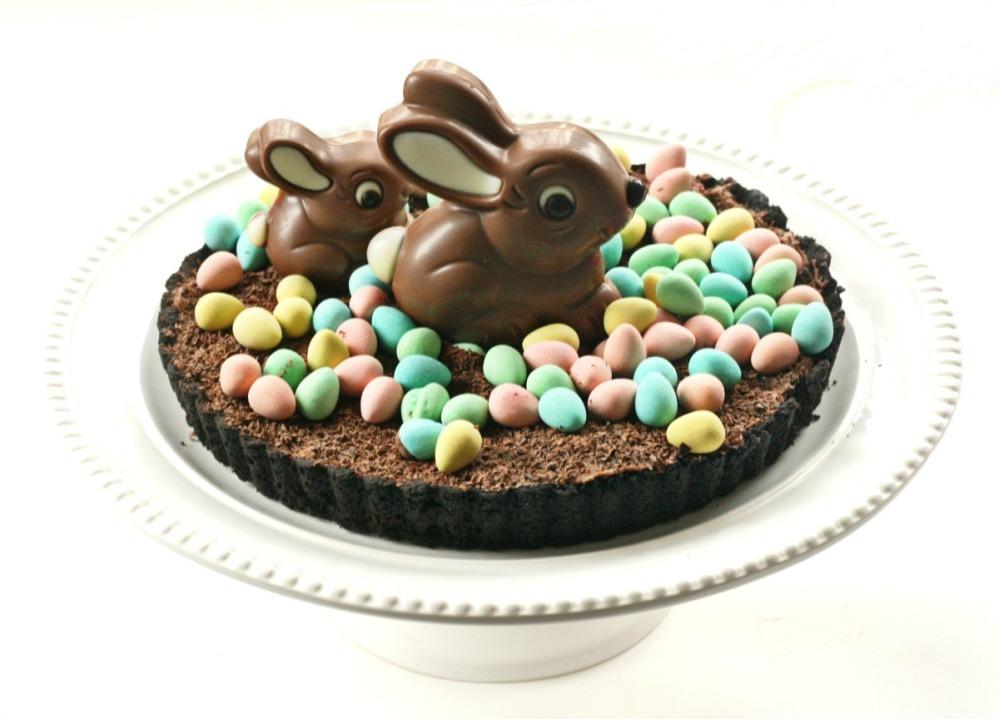 chocolate hens nest pie final