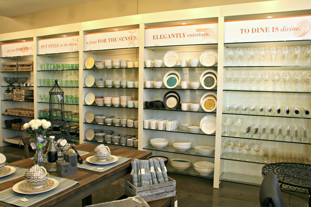 UB wall of dishes
