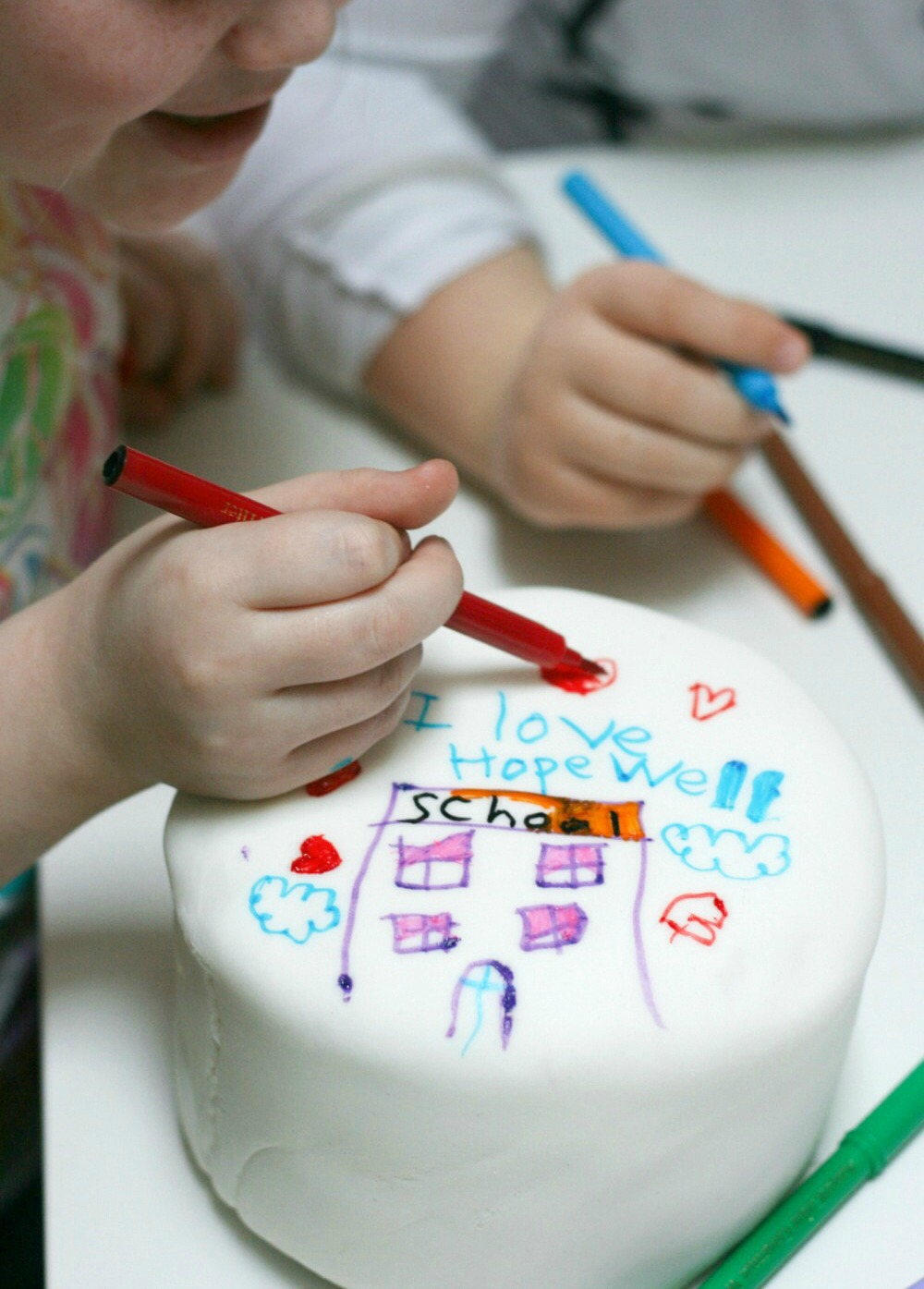 doodles and daydreams cake