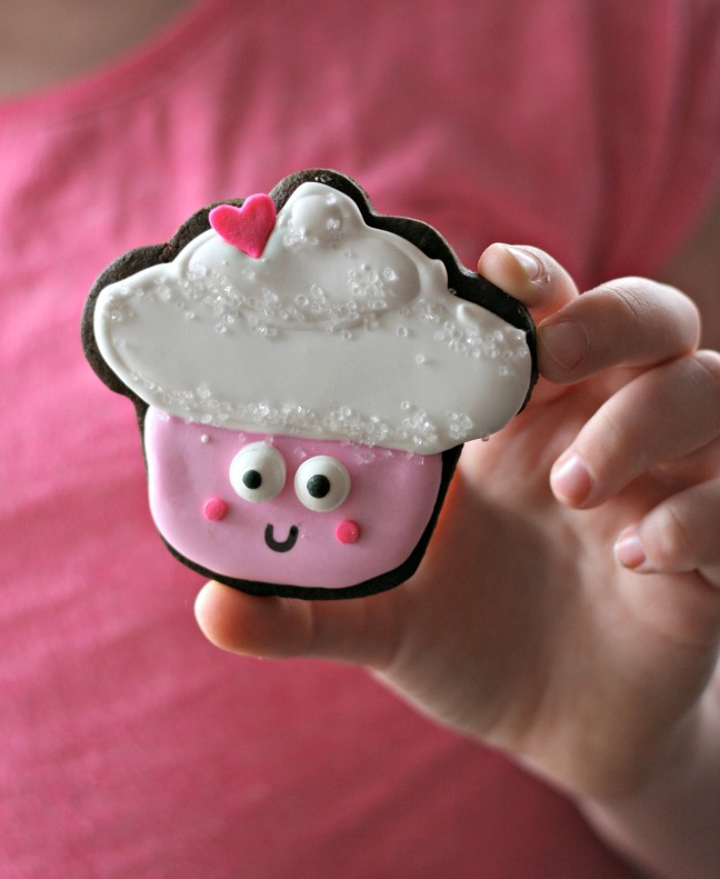 happy happy cupcake pink