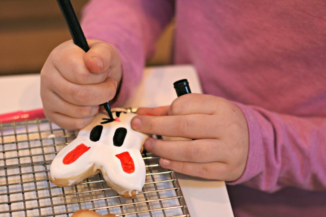 making bunny cookies