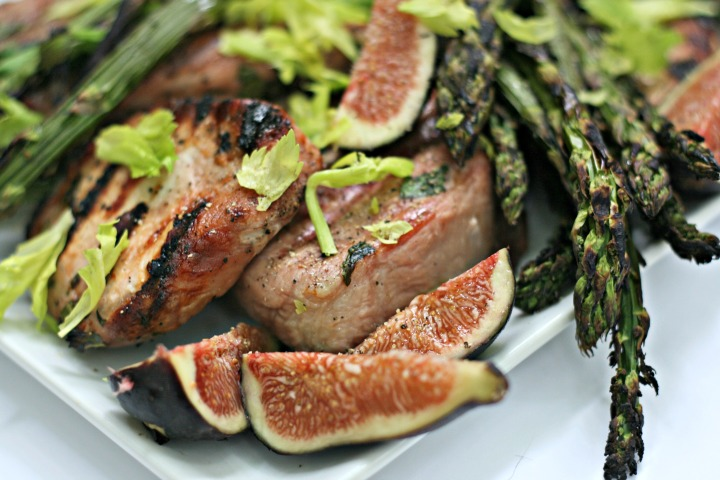 ricardo grilled porkchops and figs