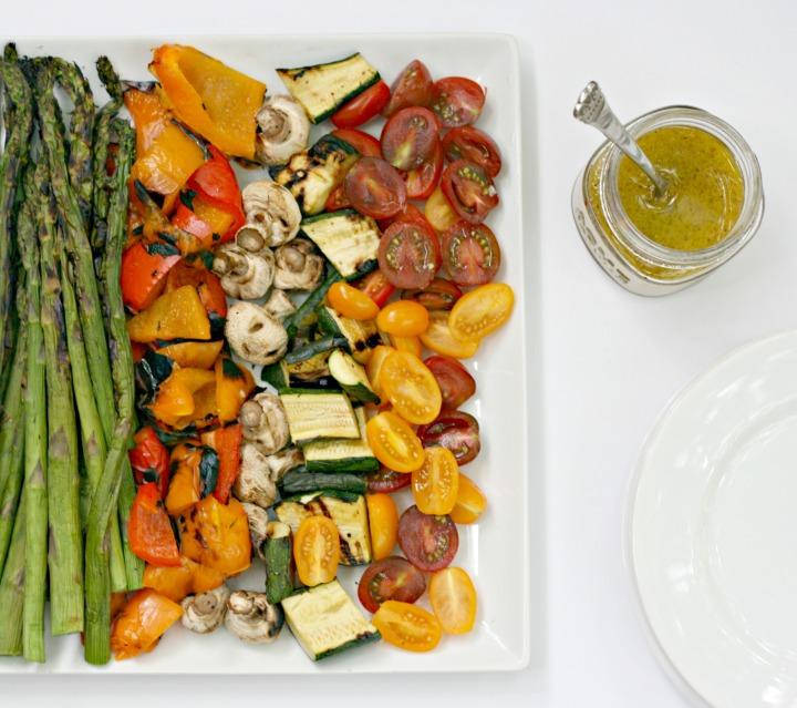 ricardo grilled veggie salad garlic 2