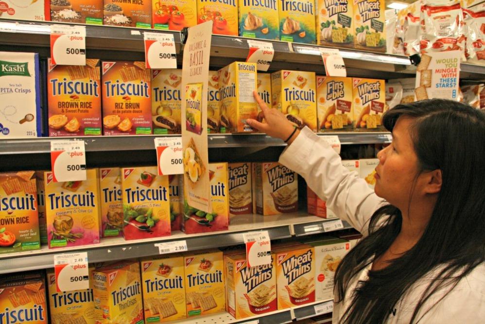 loblaws cracker aisle
