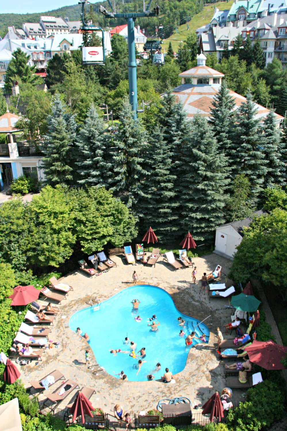 tremblant our pool