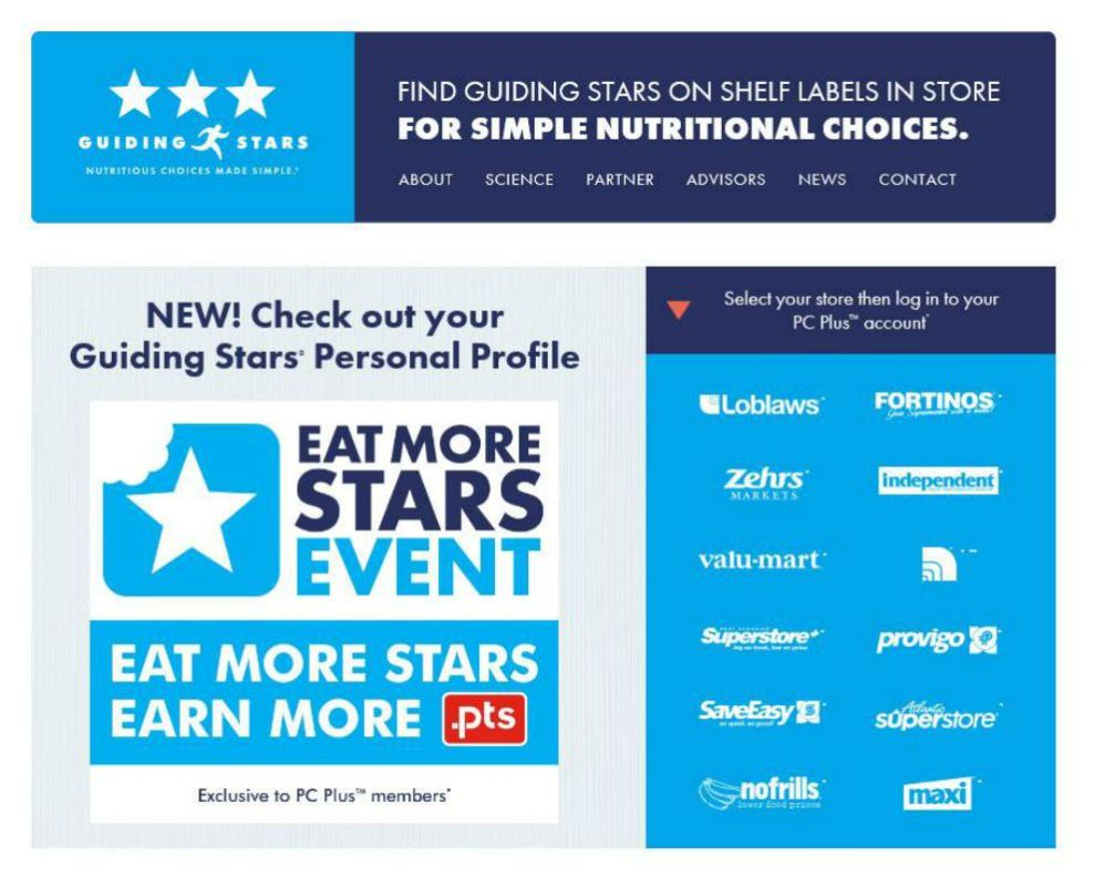 eat more stars event select your store