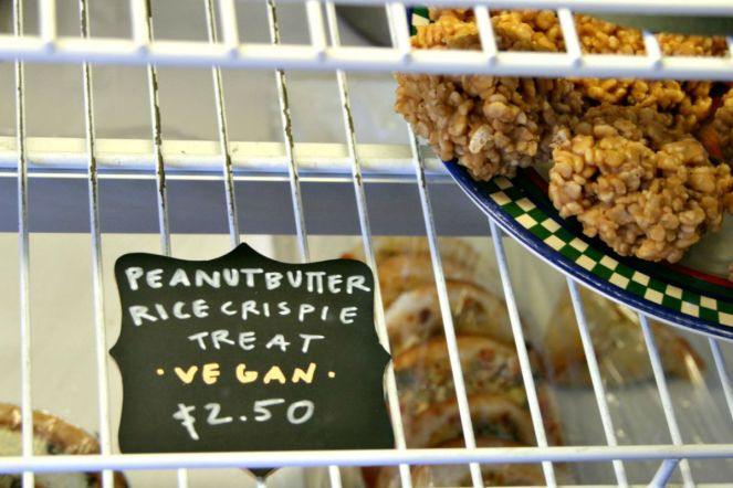 herschel peanut butter rice crispy treat