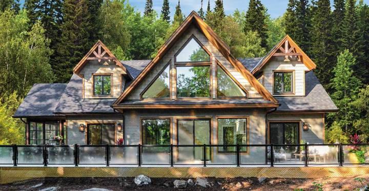 PMCC muskoka lakefront cottage front