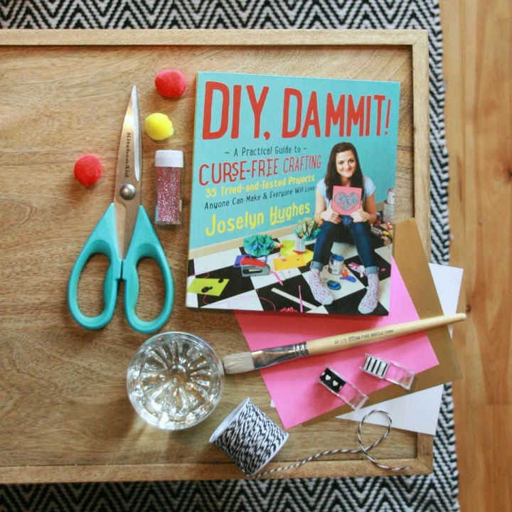 DIY, DAMMIT! A Practical Guide to Curse-Free Crafting + Win acopy!