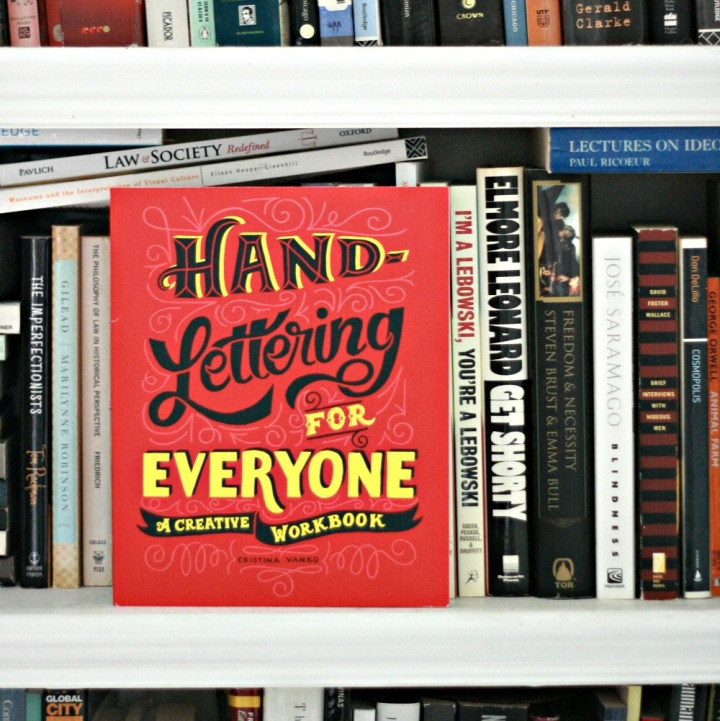 Hand-Lettering for Everyone by Cristina Vanko + Win a copy!
