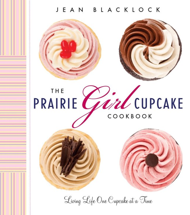 prairie girl cupcake cookbook cover offical