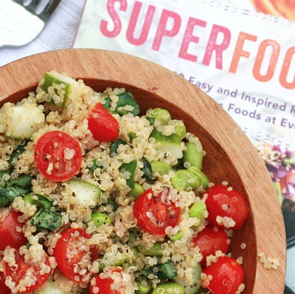Superfoods 247 kick-start quinoa salad