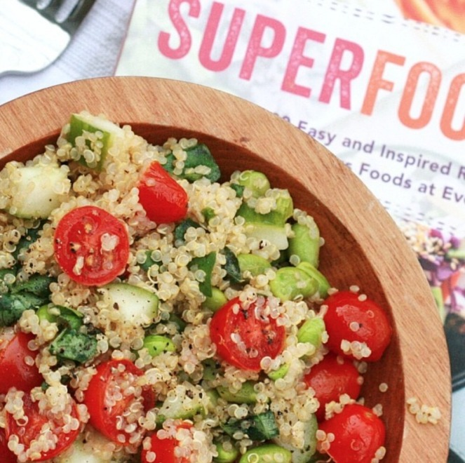Superfoods 247 kick-start quinoa salad