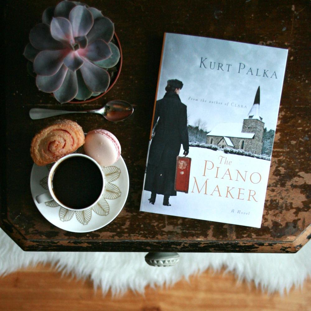 The Piano Maker by Kurt Palka cover
