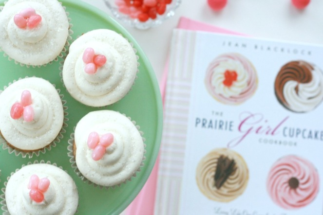 The Prairie Girl Cupcake Cookbook close up