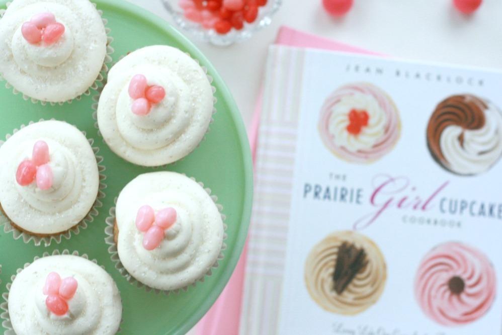 The Prairie Girl Cupcake Cookbook close up