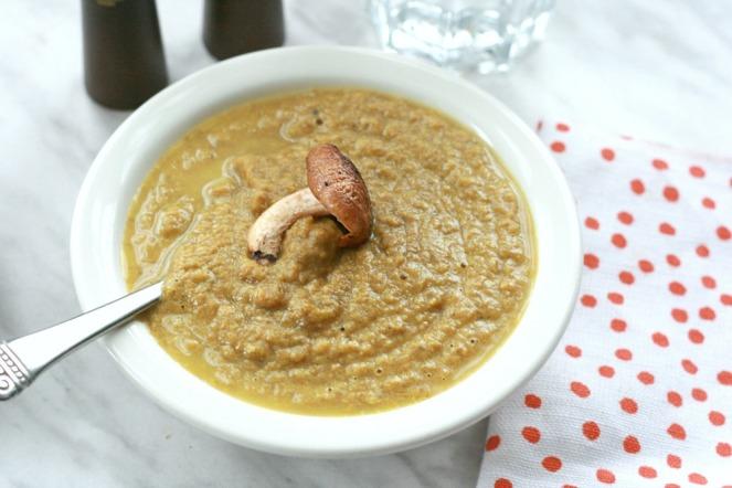 The UnDiet Cookbook by Meghan Telpner creamy mushroom soup love