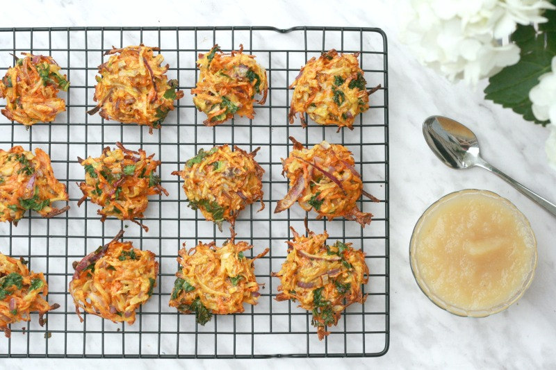 The UnDiet Cookbook by Meghan Telpner sweet potato carrot and zucchini brizzles