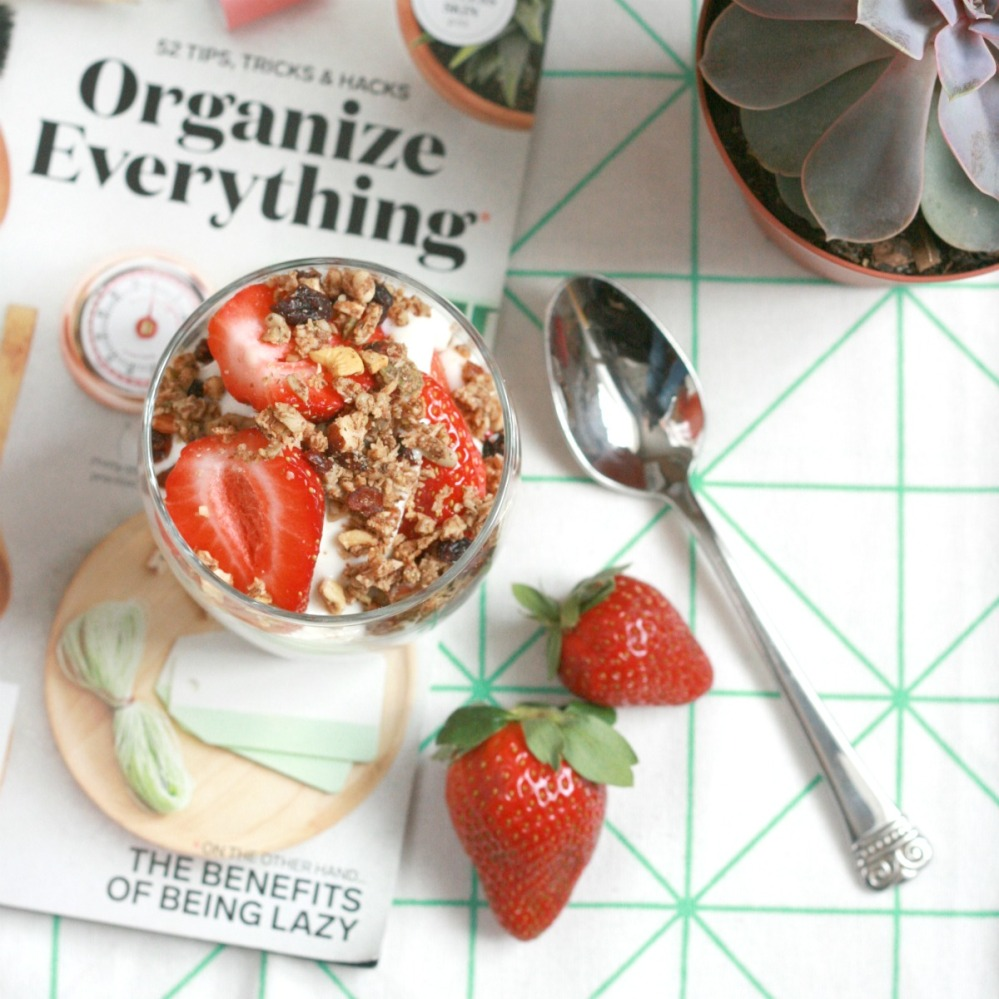 clean eats granola chatelaine