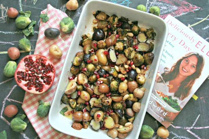 Deliciously Ella Roasted Maple Sprouts horizontal bright
