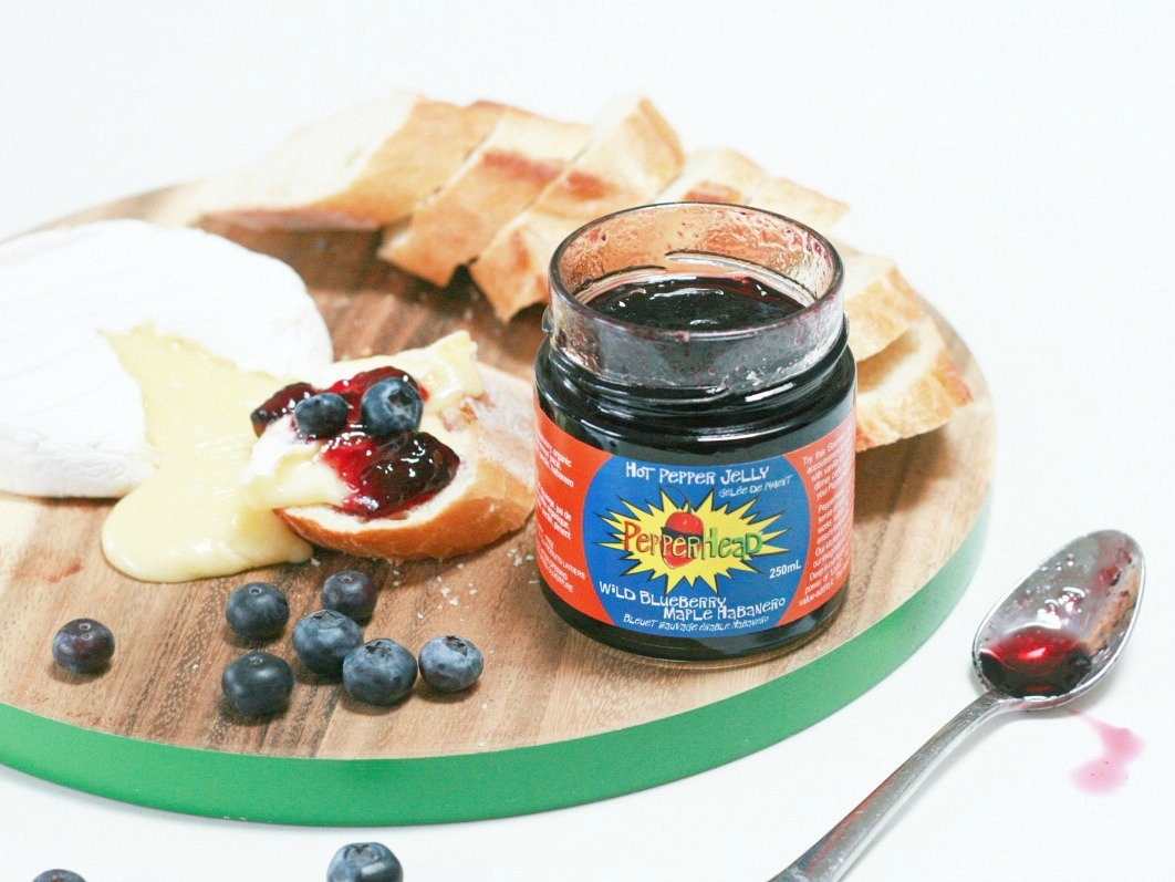 PepperHead Wild Blueberry Maple Pepper Jelly