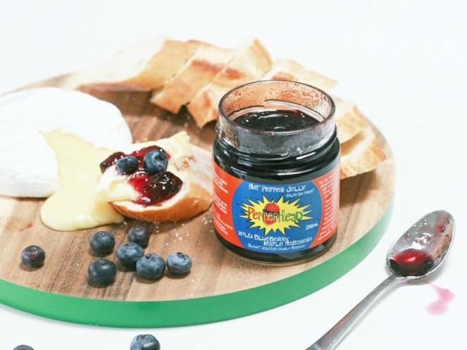 PepperHead Wild Blueberry Maple Pepper Jelly