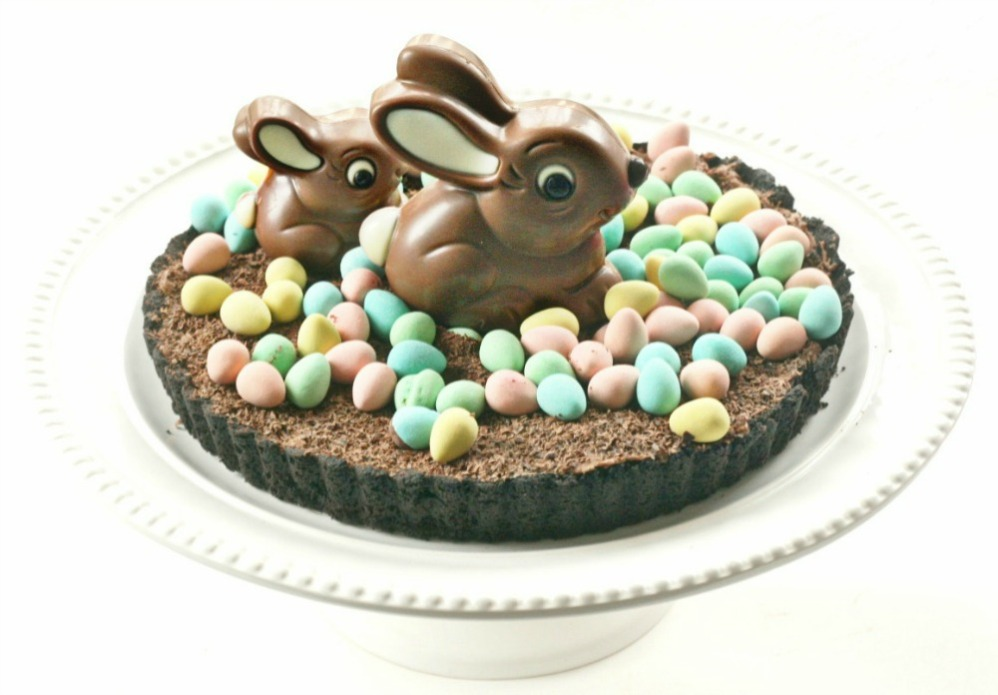 chocolate hens nest pie Easter
