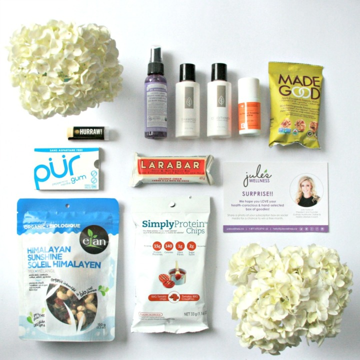 Let's see what's inside: Jule's Lifestyle Company's March lifestyle subscriptionbox