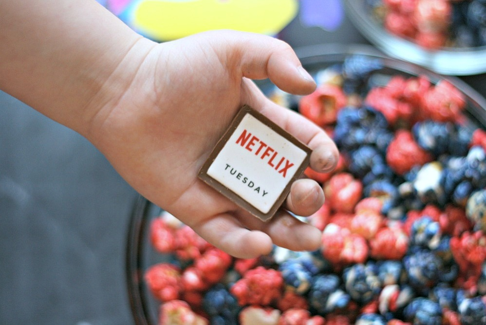 Netflix Tuesday chocolate