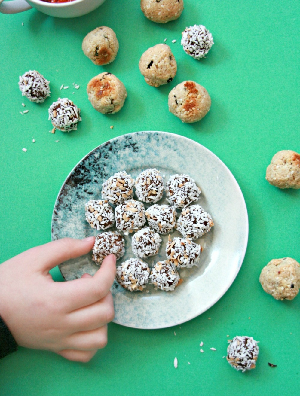 The Help Yourself Cookbook For Kids chocoballs and moon drops