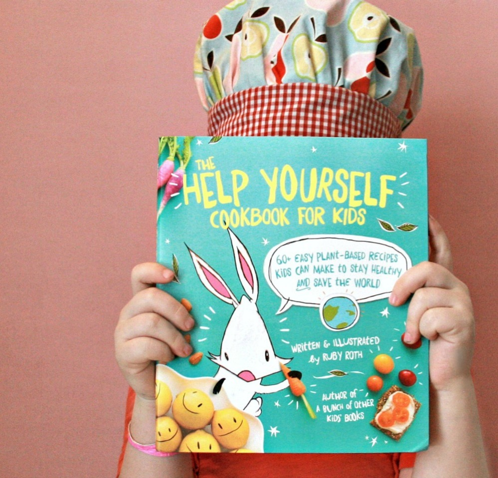The Help Yourself Cookbook For Kids cover