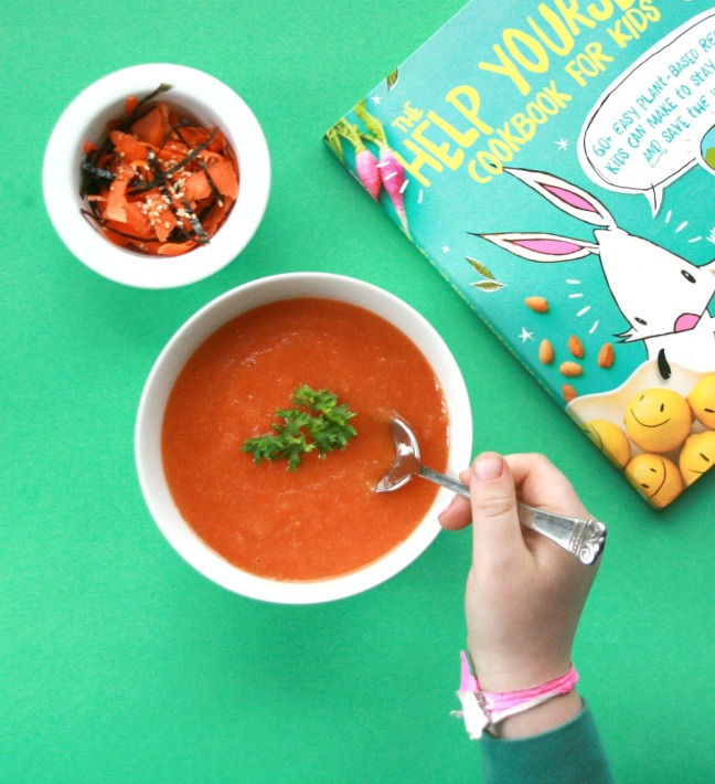 The Help Yourself Cookbook For Kids tomato tornado soup