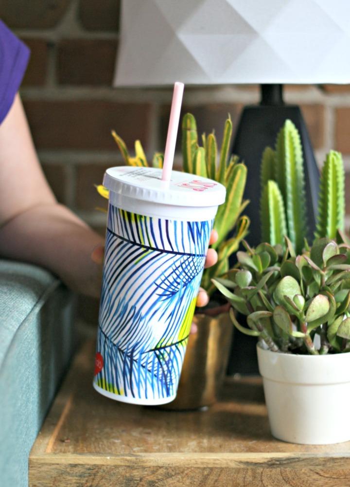 Minted botanicals Bando palm tumbler.jpg